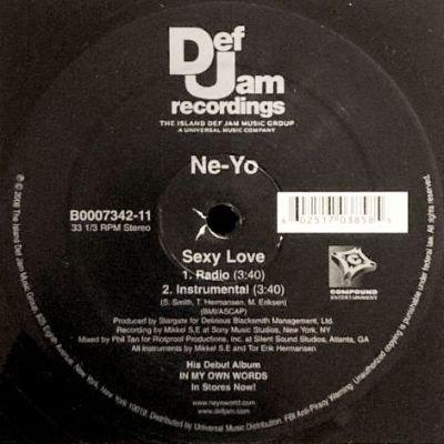 NE-YO - SEXY LOVE (12) (EX/EX)