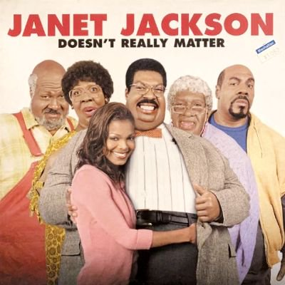 JANET JACKSON - DOESN'T REALLY MATTER (12) (EU) (EX/VG+)
