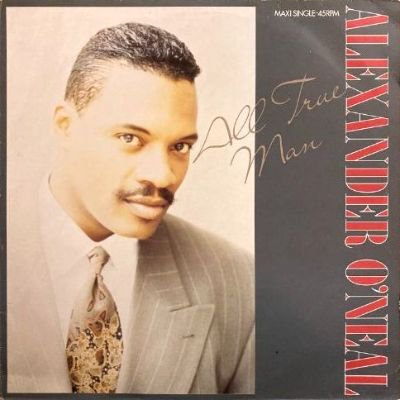<img class='new_mark_img1' src='https://img.shop-pro.jp/img/new/icons3.gif' style='border:none;display:inline;margin:0px;padding:0px;width:auto;' />ALEXANDER O'NEAL - ALL TRUE MAN (12) (VG+/VG+)