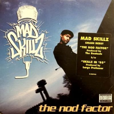 <img class='new_mark_img1' src='https://img.shop-pro.jp/img/new/icons3.gif' style='border:none;display:inline;margin:0px;padding:0px;width:auto;' />MAD SKILLZ - THE NOD FACTOR (12) (EX/VG+)