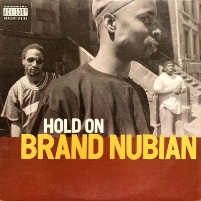 <img class='new_mark_img1' src='https://img.shop-pro.jp/img/new/icons3.gif' style='border:none;display:inline;margin:0px;padding:0px;width:auto;' />BRAND NUBIAN - HOLD ON / STEP INTO DA CIPHER (12) (VG/VG+)