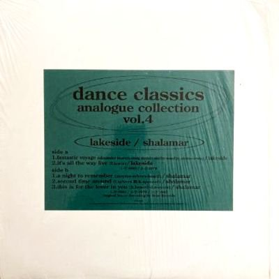 <img class='new_mark_img1' src='https://img.shop-pro.jp/img/new/icons3.gif' style='border:none;display:inline;margin:0px;padding:0px;width:auto;' />V.A. - DANCE CLASSICS ANALOGUE COLLECTION VOL.4 (12) (VG+/VG+)