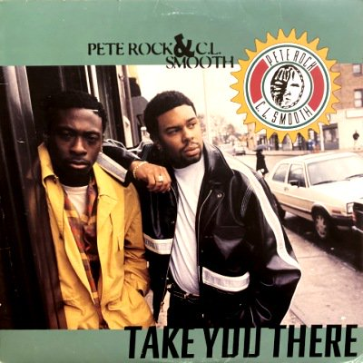 <img class='new_mark_img1' src='https://img.shop-pro.jp/img/new/icons3.gif' style='border:none;display:inline;margin:0px;padding:0px;width:auto;' />PETE ROCK & CL SMOOTH - TAKE YOU THERE (12) (VG+/VG+)