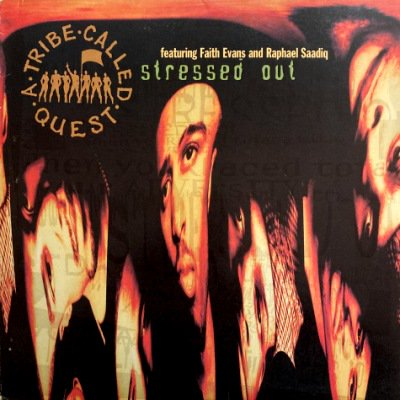 <img class='new_mark_img1' src='https://img.shop-pro.jp/img/new/icons3.gif' style='border:none;display:inline;margin:0px;padding:0px;width:auto;' />A TRIBE CALLED QUEST - STRESSED OUT (12) (VG/VG+)