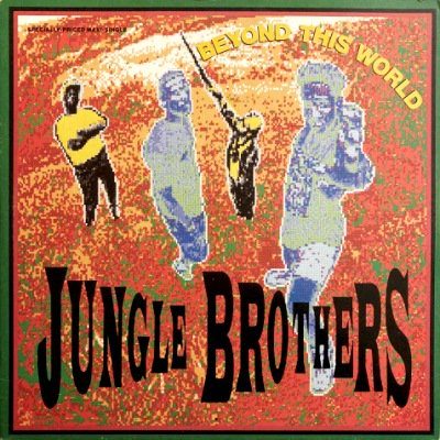 <img class='new_mark_img1' src='https://img.shop-pro.jp/img/new/icons3.gif' style='border:none;display:inline;margin:0px;padding:0px;width:auto;' />JUNGLE BROTHERS - BEYOND THIS WORLD / PROMO NO. 2 (12) (VG+/VG+)