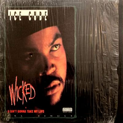 <img class='new_mark_img1' src='https://img.shop-pro.jp/img/new/icons3.gif' style='border:none;display:inline;margin:0px;padding:0px;width:auto;' />ICE CUBE - WICKED / U AIN'T GONNA TAKE MY LIFE (12) (VG/VG+)