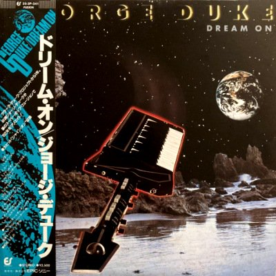 <img class='new_mark_img1' src='https://img.shop-pro.jp/img/new/icons3.gif' style='border:none;display:inline;margin:0px;padding:0px;width:auto;' />GEORGE DUKE - DREAM ON (LP) (JP) (VG+/EX)