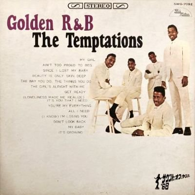 <img class='new_mark_img1' src='https://img.shop-pro.jp/img/new/icons3.gif' style='border:none;display:inline;margin:0px;padding:0px;width:auto;' />THE TEMPTATIONS - GOLDEN R&B (LP) (JP) (VG/VG)