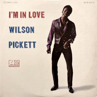 <img class='new_mark_img1' src='https://img.shop-pro.jp/img/new/icons3.gif' style='border:none;display:inline;margin:0px;padding:0px;width:auto;' />WILSON PICKETT - I'M IN LOVE (LP) (JP) (VG+/VG+)