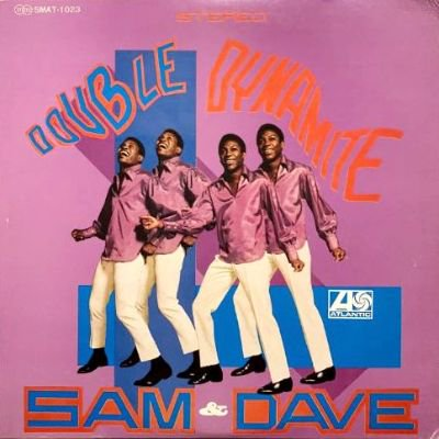<img class='new_mark_img1' src='https://img.shop-pro.jp/img/new/icons3.gif' style='border:none;display:inline;margin:0px;padding:0px;width:auto;' />SAM & DAVE - DOUBLE DYNAMITE (LP) (JP) (VG+/VG+)