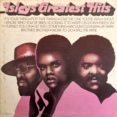 <img class='new_mark_img1' src='https://img.shop-pro.jp/img/new/icons3.gif' style='border:none;display:inline;margin:0px;padding:0px;width:auto;' />THE ISLEY BROTHERS - THE ISLEYS' GREATEST HITS (LP) (VG+/VG)
