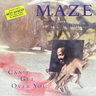 <img class='new_mark_img1' src='https://img.shop-pro.jp/img/new/icons3.gif' style='border:none;display:inline;margin:0px;padding:0px;width:auto;' />MAZE feat. FRANKIE BEVERLY - CAN'T GET OVER YOU (12) (EX/EX)