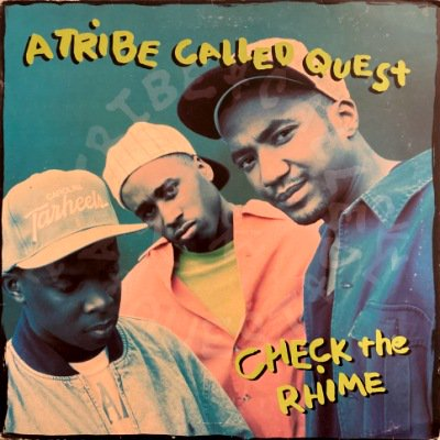 <img class='new_mark_img1' src='https://img.shop-pro.jp/img/new/icons3.gif' style='border:none;display:inline;margin:0px;padding:0px;width:auto;' />A TRIBE CALLED QUEST - CHECK THE RHIME (12) (UK) (RE) (G/VG)