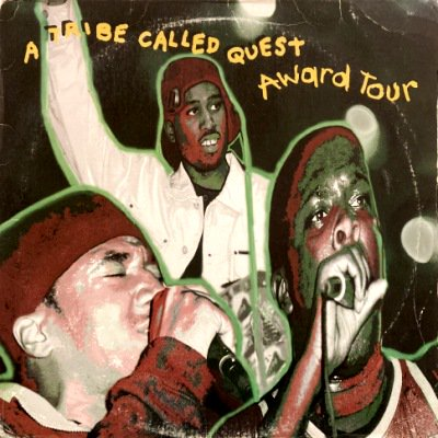 <img class='new_mark_img1' src='https://img.shop-pro.jp/img/new/icons3.gif' style='border:none;display:inline;margin:0px;padding:0px;width:auto;' />A TRIBE CALLED QUEST - AWARD TOUR (12) (G/VG)