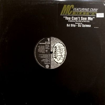 <img class='new_mark_img1' src='https://img.shop-pro.jp/img/new/icons3.gif' style='border:none;display:inline;margin:0px;padding:0px;width:auto;' />MC EIHT - YOU CAN'T SEE ME (12) (PROMO) EX/VG+)