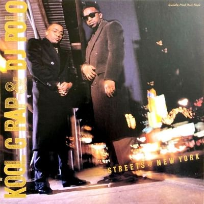 <img class='new_mark_img1' src='https://img.shop-pro.jp/img/new/icons3.gif' style='border:none;display:inline;margin:0px;padding:0px;width:auto;' />KOOL G RAP & DJ POLO - STREETS OF NEW YORK / POISON (12) (EX/EX)