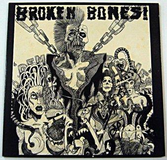 BROKEN BONES - Dem Bones (USED LP) - NAT RECORDS