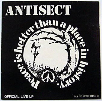 antisect peace is better than a place in history official live