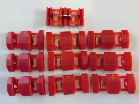 タップコネクター赤色10個セット