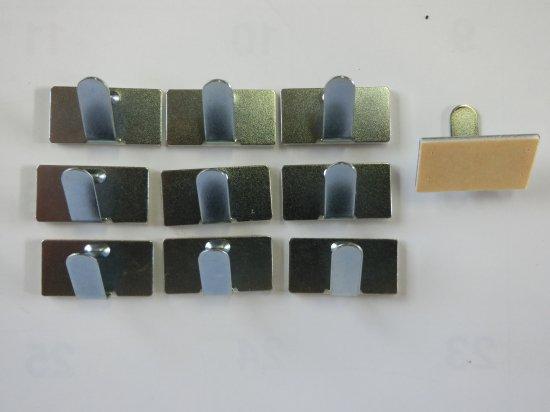 コード粘着式配線留金具小10個セット