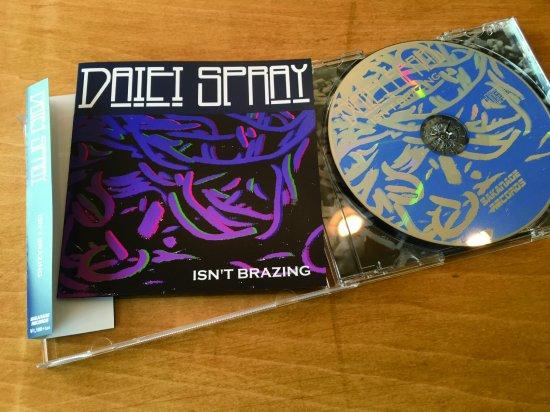 daiei spray isn t brazing cd senseless records