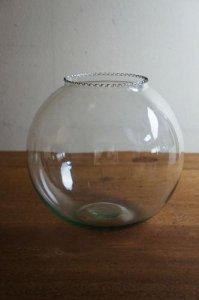 ★古いガラスの金魚鉢