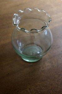 ★小さめな金魚鉢 ガラス瓶