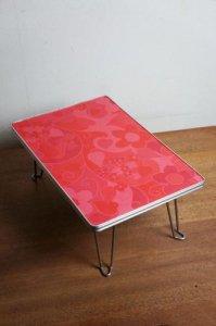 ★レトロポップな折りたたみテーブル