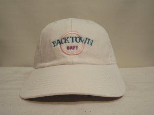 iandme BACKTOWNCAFE CAP ホワイト