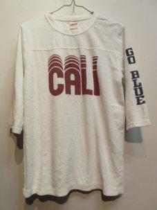 Free Rage フリーレイジ California パイル フットボール Tee ホワイト