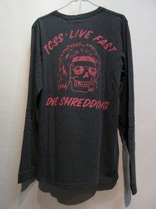 TCSS TCSS LIVE FAST L/S TEE Mサイズ ブラック