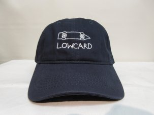 LOWCARD The Cruiser Polo Hat ネイビー