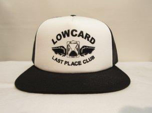 LOWCARD Last Place Club Mesh Hat ブラック/ホワイト