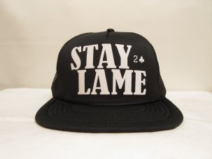 LOWCARD Stay Lame Standard Mesh ブラック