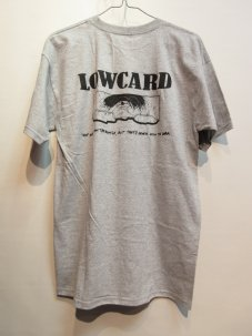 LOWCARD Spot Battle T-Shirt Mサイズ グレー
