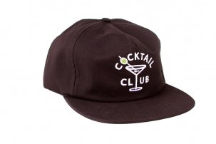GOOD WORTH Cocktail Club Snapback ブラック