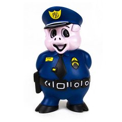 GOOD WORTH Officer Dick Dog Toy