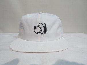 SHAKASTICS × KENKAGAMI SNOOPY 6 PANEL CAP ホワイト