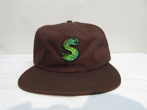 SHAKASTICS × LUCAS BEAUFORT 6 PANEL CAP ブラウン
