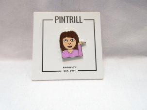PINTRILL INFO GIRL PIN