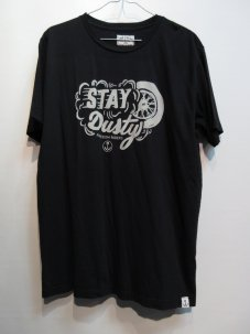 IRON&RESIN STAY DUSTY TEE Mサイズ ブラック