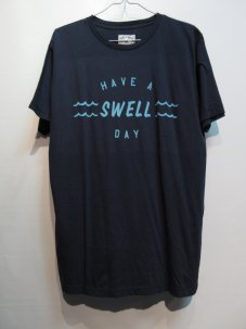 IRON&RESIN SWELL DAY TEE Mサイズ インディゴ