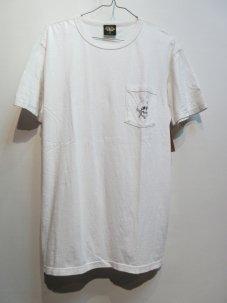 LOSER MACHINE REVENGE OLD TIME ポケット Tシャツ Mサイズ ホワイト