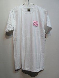 DARK SEAS GET DEAD FITTED Tシャツ Mサイズ ホワイト