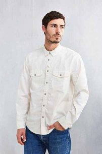 CPO Painter Chambray Workshirt  Sサイズ ホワイト