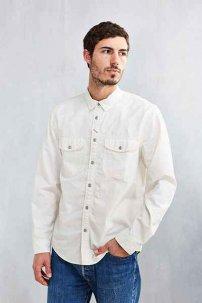 CPO Painter Chambray Workshirt  Sサイズ ホワイト