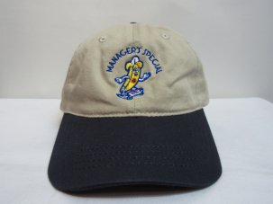 Managers Special Bobby The Banana Dad Hat カーキ/ネイビー