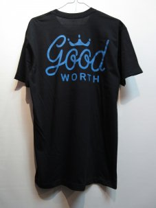 GOOD WORTH CROWN LOGO Tee Mサイズ ブラック