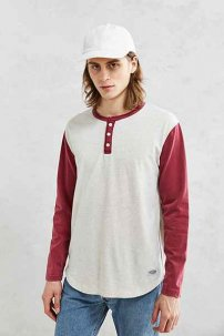 CPO Moonshot Baseball L/S Cream/Wine