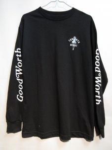 GOOD WORTH Tonight's The Night Long Sleeve Mサイズ ブラック